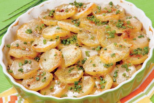 жаркое из картофеля с пельменями