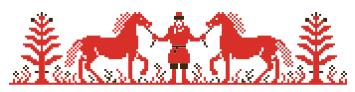Decor horse Batushka