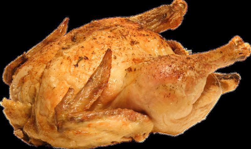 жареная курица тушка