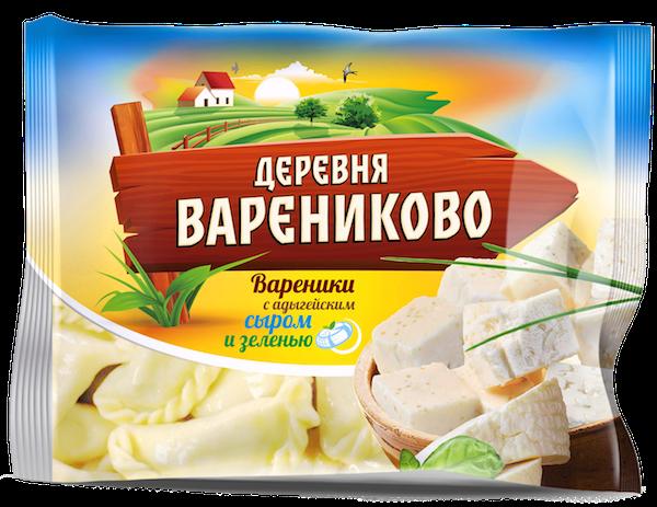 Вареники с адыгейским сыром600