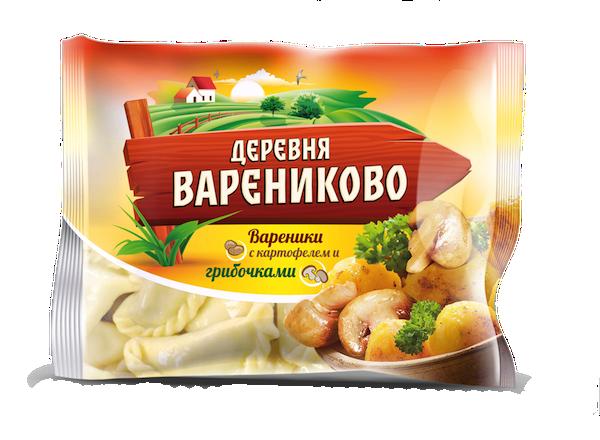 Вареники с картофелем и грибочками копия