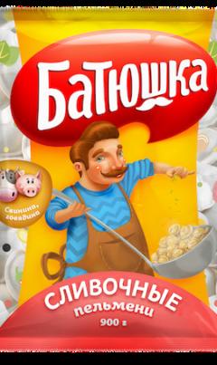 пельмени Батюшка Сливочные